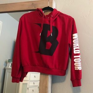 Bieber and H&M collab hoodie